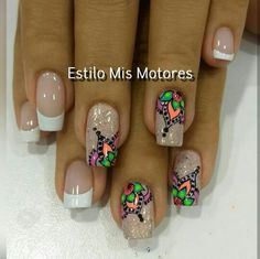 Gorgeous Nails, Manicure And Pedicure, Nail Art Designs, My Nails, Finger, Hair Beauty, Tattoos, Gel Nail, Work Nails
