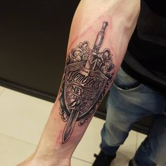 #freshtattoo #bngtattoo #shield #memoriesneverdie #tattoo #armtattoo #inking #ink #tattooed #inked #sword #bng #tattooinlondon #ctilondon #crimsontideink #igorsto #london #tooting #tattooting #tattooshop #cti #tatt #tatts #memorytattoo #customart Thank you man!! #subscribe www.tattooinlondon.com