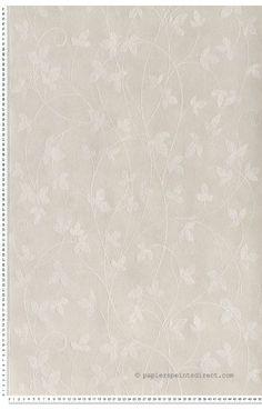 Plante grimpante gris clair - Papier peint Mémory d'AS Création (Marie)