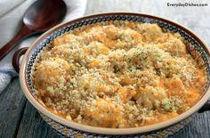 Chicken cauliflower casserole recipe
