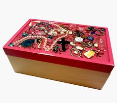 Resin Crafts: Jewelry Grab Bag to Jewelry Box!