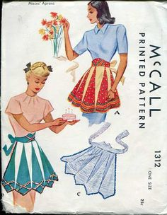 McCall Apron Pattern