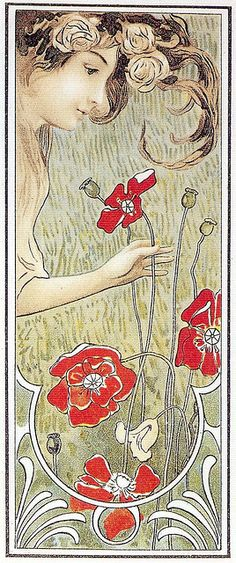Art Nouveau art in the 1900s- Gucci's inspiration for Spring-summer collection 2014