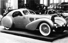 Lost relic. 1935 Bugatti Aerolithe
