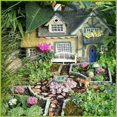 fairy garden design | ... new havent considered it selection creaate a Fairy Garden Design Ideas
