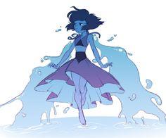 Lapis Lazuli ||| Steven Universe Fan Art by gullshriek on Tumblr