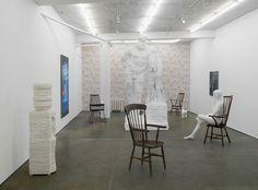 Matthew Darbyshire, Bureau (installation view), Herald St, London 2014. Image courtesy Herald St, London.