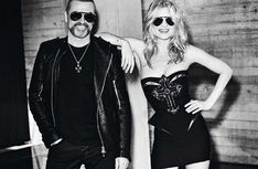 George Michael & Kate Moss