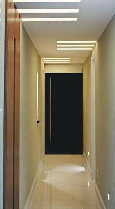 iluminação de corredor