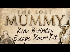 Transform your home into an epic escape room party with these DIY escape game kits. Ready to print & play or use the editor to customize however you like. Spy Party, Kids Party Games, Party Kit, Party Ideas, Escape Room For Kids, Boy Birthday, Kids Playing, Cool Kids, Activities For Kids