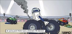 R2D2 has made a dramatic life decision