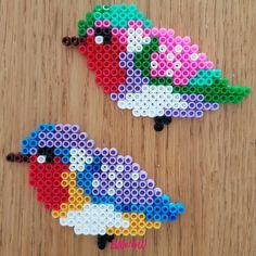 Perler Bead Designs, Hama Beads Design, Perler Bead Art, Fuse Beads, Pearler Beads, Beaded Ornaments, Ornament Crafts, Christmas Ornament, Iron Beads