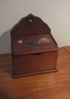 Small Wooden Chest / Box in Portage Park, Chicago ~ Apartment Therapy Classifieds