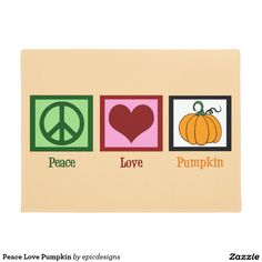 Peace Love Pumpkin Doormat in light orange for the fall season. I love everything pumpkin flavored and scented during autumn. This is the perfect front door decor for October and November holidays.