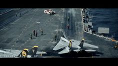 Aircraft Carrier operation by Pavel Mikhailenko. Small video made for fun. Was always passioned by Aircraft Carriers. So dicided to make some video. Full 3d video made in 3d max.  Render Vray.