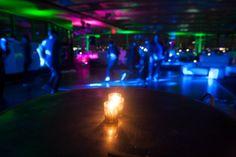 Bar Mitzvah Party Lighting & Decorations {5th Avenue Digital} - mazelmoments.com