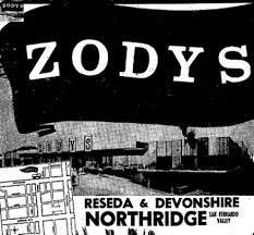 Zodys was a chain of discount retail stores that operated in the United States from 1960 to 1986. The chain operated locations in California, Arizona, Nevada, New Mexico, and Michigan.  The first store in this Southern California–based discount chain opened June 13, 1960, in Garden Grove, California. By 1969, there were nineteen stores. In 1972, Above photo Reseda and Devonshire