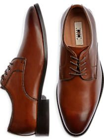 Joseph Abboud Tonal Brown Lace Up Shoes