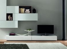 Modern-Shelf-Style-Entertainment-Center-With-Wall-Mounted-Media.jpg (464×340)