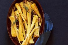 The perfect roast parsnip is a crisp outside and soft meting inner. They are so easy to make and can also be made in advance.
