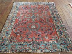 • Vintage Handmade, 1940s Iran • For Questions About This Rug Please Contact Us • Stock #JAM292-P1