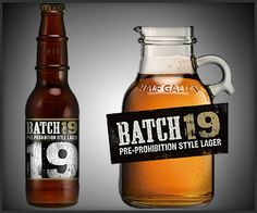Batch 19 Pre-Prohibition Style Lager, it is hard to find, but awesome