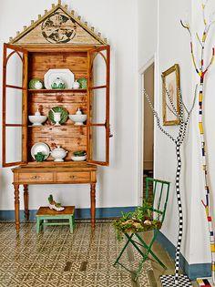 En la casa en Sevilla del pintor Chema Rodríguez #decoracion #arte