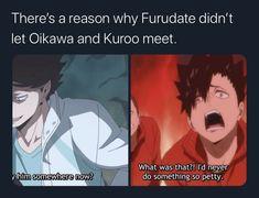 Haikyuu Funny, Haikyuu Manga, Haikyuu Fanart, Anime Manga, Anime Guys, Iwaoi, Kagehina, Haikyuu Characters, Anime Characters