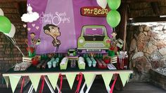 Mr Bean Birthday, 7th Birthday, Birthday Parties, Beans, Party, Pictures, Kids Part, Fiestas, Manualidades