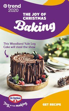Xmas Food, Christmas Cooking, Christmas Desserts, Christmas Nibbles, Woodland Christmas, Christmas Cakes, Baking Recipes, Cake Recipes, Dessert Recipes