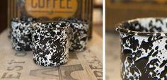 Crow Canyon Home - Enamelware marble mugs