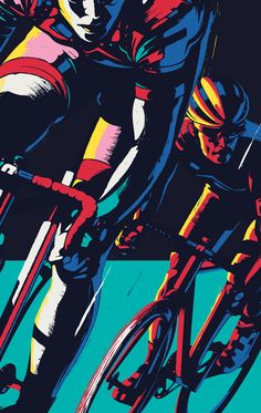 Poster Design, Illustration and Art Direction for Red Hook Criterium Nº8 in Brooklyn, New York. The poster layout, type and colors presented on this behance project are not the final ones used by Red Hook Crit on their official poster. Final design by Jon…