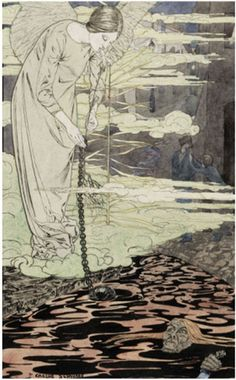 42 best art symbolism schwabe carlos 18661926 images on carlos schwabe the dream winged woman leaning fandeluxe Choice Image