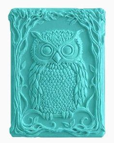 Owl Soap - Decorative Soap - Spring Summer Soap - Glycerin Soap - Natural Soap - Moisturizing Soap - Choose Your Own Scent. $5.25, via Etsy.