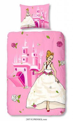 Kids-Style Dekbedovertrek princess 2057