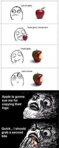Oh no Apple