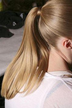 Sleek Ponytail, Elegant Ponytail, Perfect Ponytail, Sleek Hair, Brown Blonde Hair, Ponytail Hairstyles, Stylish Hairstyles, Hair Ponytail, Hairstyle Short