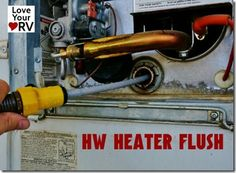 My Yearly RV Hot Water Heater Mainenance --Love Your RV Blog, By Ray