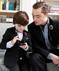 Chuck Bass and son
