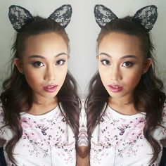 Meow. ASHLEY @ysabelladejesus showing her inner @arianagrande #arianagrande for #mtweek2015  Proud of our #AthenaGirl #MakeupByAimeeG  Hairstyling & Traditional/Airbrush Makeup    For inquiries contact us: Smart 09479948143   Globe 09178924633   VIBER 09473370558    Email aimee@guerrerocreative.net    #makeupartistph #makeupartist #hmua #hmuaph #mua #muaph #makeup #hairstylist #hair #beauty #fashion #makeupbyme #beautyblog #maccosmetics #marykayph #nars #loreal #revlon #naked1 #naked2…