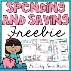 This FREEBIE is a SAMPLE from my Spending and Saving Mini-Unit found HERE!If you enjoy and use this freebie, please take the time to leave f. 3rd Grade Social Studies, Kindergarten Social Studies, Teaching Social Studies, In Kindergarten, Economics For Kids, Economics Lessons, Elementary School Counselor, Elementary Schools, Money Worksheets