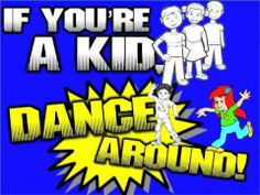 """""""If You're a Kid, Dance Around"""" has now gone animal-style!      Verses include various animal sounds & movements.  Chorus is the classic """"dance around"""" part.  Enjoy!    Links to the other 2 versions:  If You're a Kid (original): http://youtu.be/fw6z94wJsWI  If You're a Kid (Dental Health Remix): http://youtu.be/lUWfa5dUd_k"""