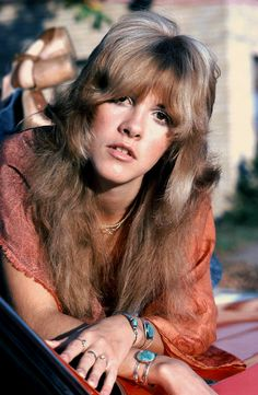 Stevie Nicks, photographed by Fin Costello (1975)