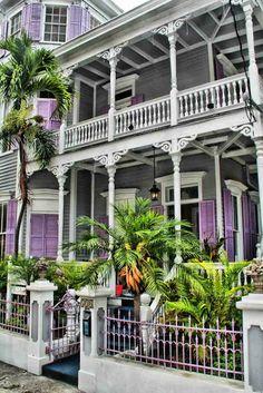 Gingerbread House in Key West, Florida. Key West Florida, Old Florida, Florida Keys, South Florida, Vintage Florida, South Carolina, Barbados, Jamaica, Beautiful Buildings