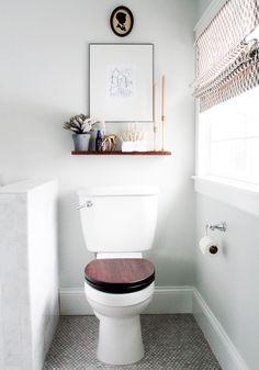 richtiges Benehmen im Gäste WC - den Klodeckel bitte zumachen