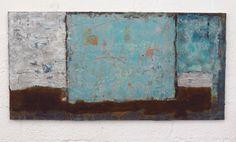 mixed media on canvas, 140 x 70 cm