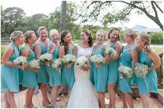 Bridal party portraits,| Norfolk Chesapeake Rustic Wedding Photography | Angie McPherson Photography