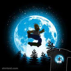 Watch Cartoons, Homer Simpson, Futurama, The Simpsons, Skateboarding, Childhood, Moon, Comics, Shirts