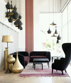 MUST HAVE these 3 BEAT Vessels..by Tom Dixon..Love the smooth sensual shapes, and especially the scale