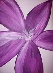 Image result for simple flowers to paint